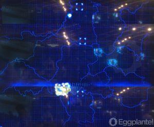 Der Ausschnitt der Demo als kleiner Teil der ganzen Welt. Quelle: eggplante.com