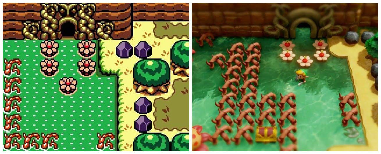 Zelda Links Awakening Vergleich Der Game Boy Game Boy Color Vs