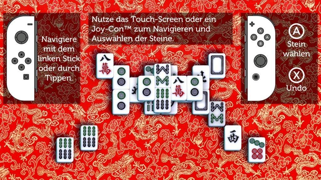 Pure Mahjong - Steuerung